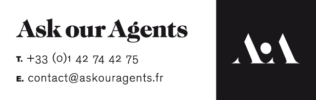 Ask our Agents logo